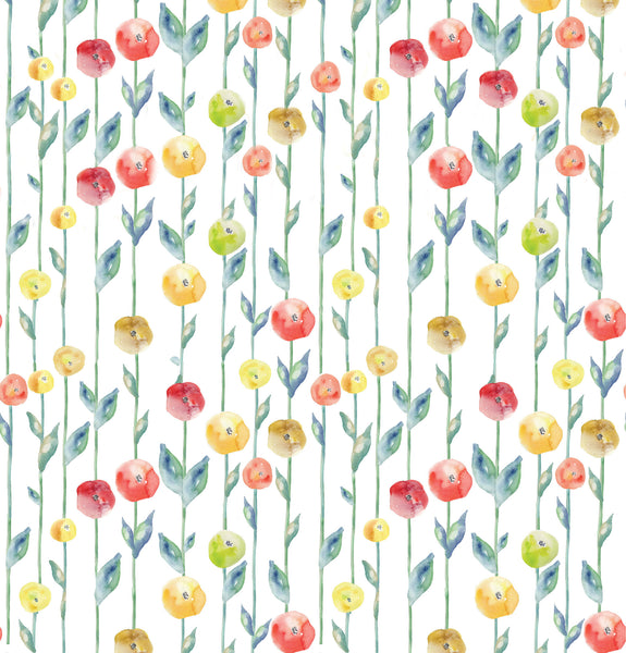 Flowered Stems Photo Background