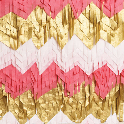 Fringed Party Photo Backdrop