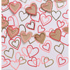Glitter Hearts Photo Backdrop