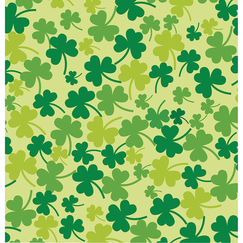 Green Clovers Photo Backdrop