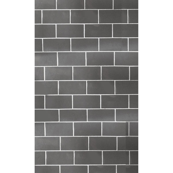 Grey Subway Tile Photo Backdrop