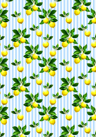 Growing Lemons Photo Backdrop