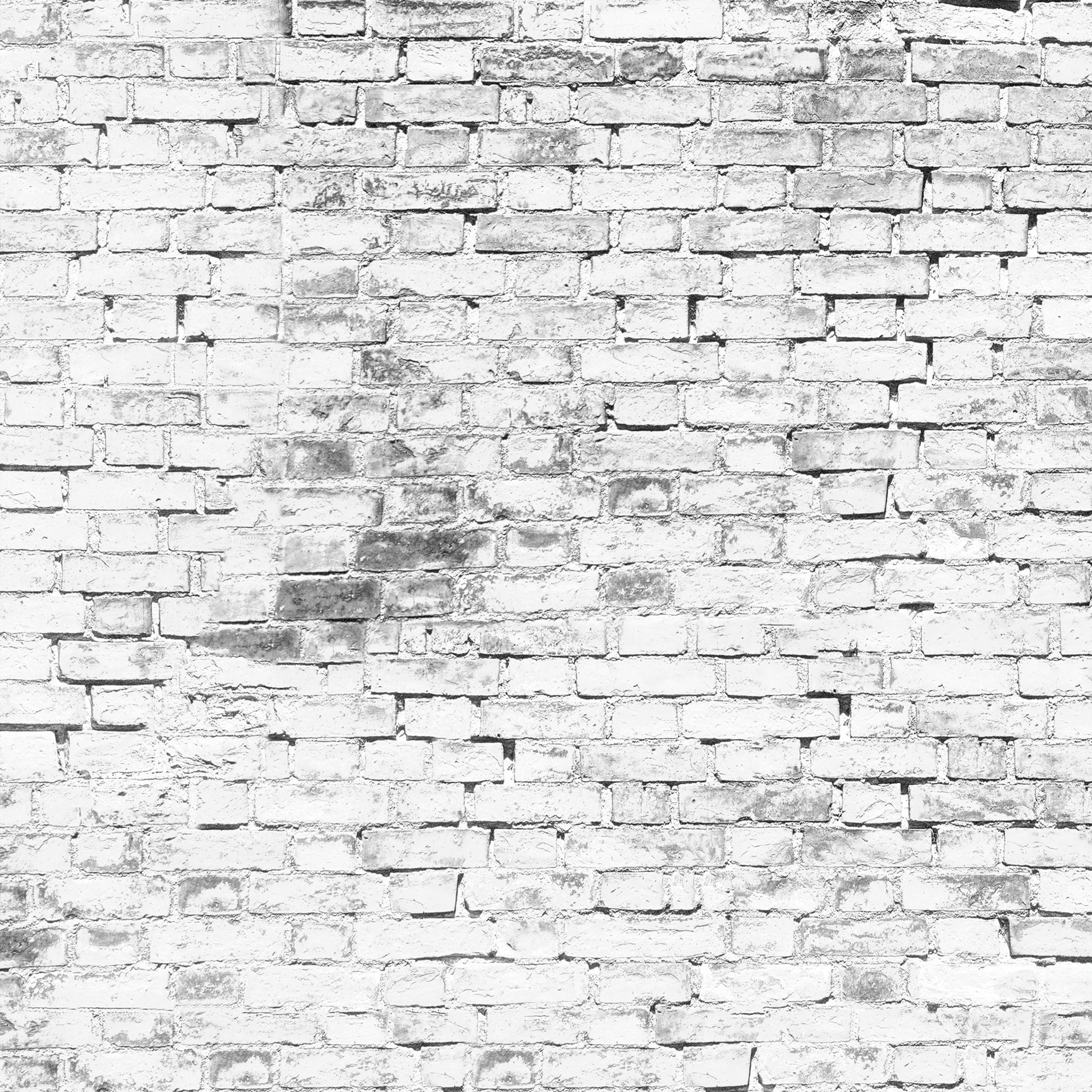 Grunge White Brick Photo Backdrop – PepperLu