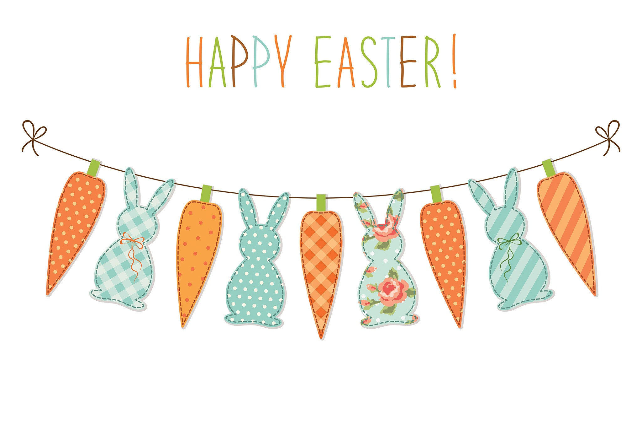 Happy Easter Banner Photo Backdrop