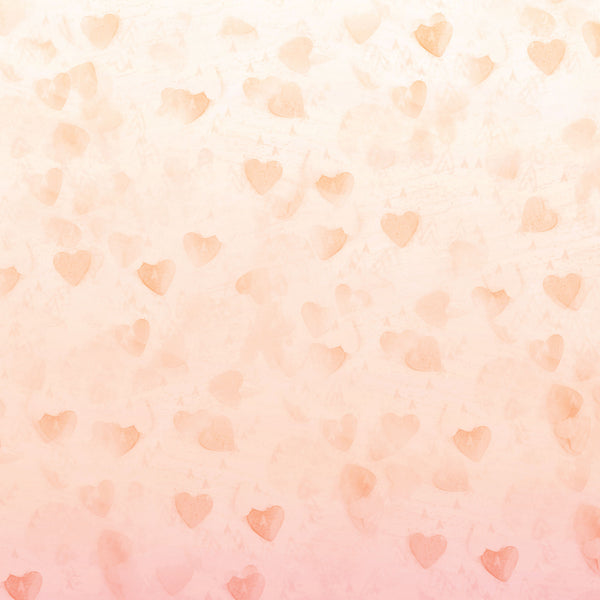 Hearts A Flutter Photo Backdrop