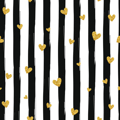Hearts And Stripes Photo Backdrop