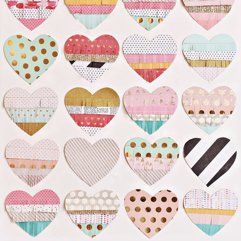 Hearts On Hearts Photo Backdrop