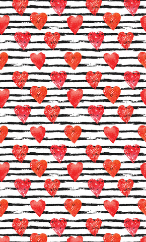 Hearts and Stripes Forever Photo Backdrop