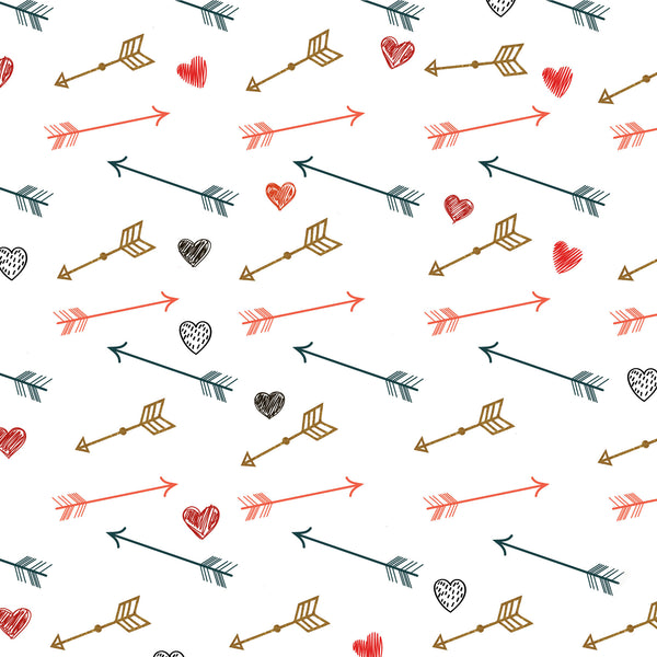 Hearts & Arrows Photo Backdrop