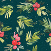 Holiday Leaves Photo Backdrop