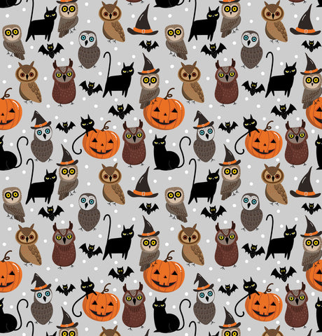 Hoots & Spooks Photo Backdrop
