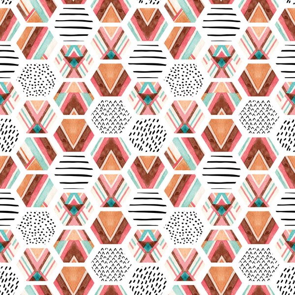 Hopi Hexagon Photo Backdrop