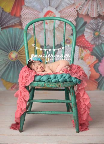 Wallflowers Photo Backdrop