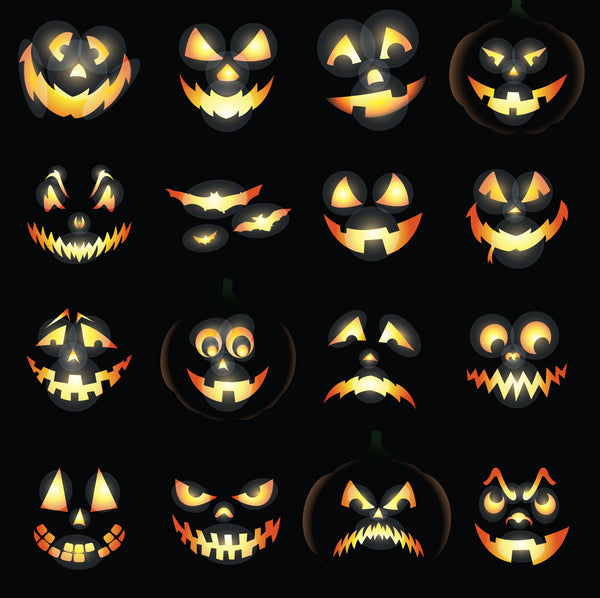 Jack-O-Lanterns Photo Backdrop