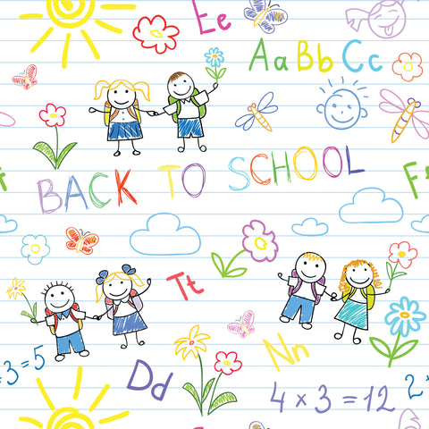 Jack & Jill Back To School Photo Background