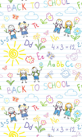 Jack & Jill Back To School Photo Backdrop