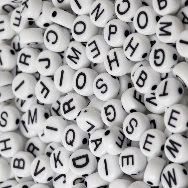 Letter Beads Photo Backdrop
