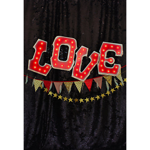 Love Letters Photo Backdrop