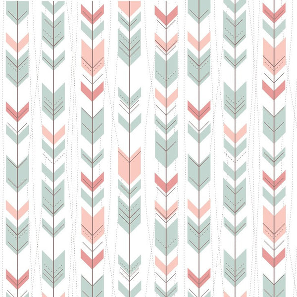 Mint Arrows Photo Backdrop