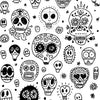 Dia de los Muertos Photo Backdrop