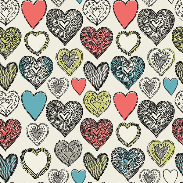 Ornate Hearts Photo Backdrop