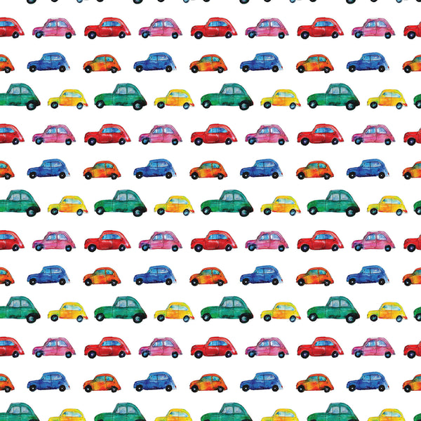 Painted Cars Photo Backdrop