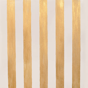 Hand Painted Gold Stripe Photo Backdrop