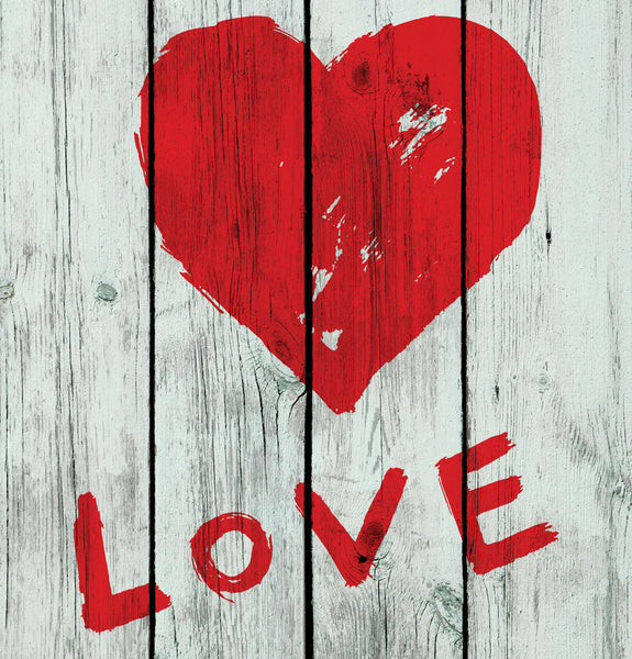 Painted Love Photo Backdrop
