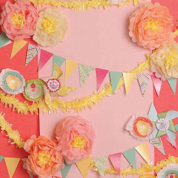 Party Time Photo Backdrop