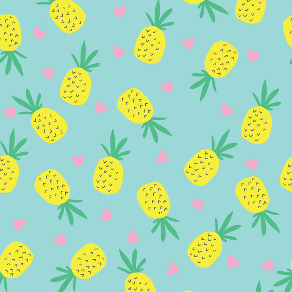 Pineapple Love Photo Backdrop