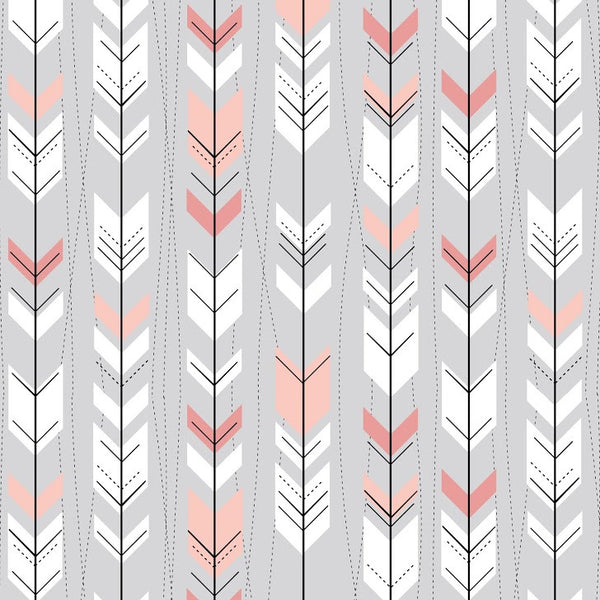 Pink Arrows Photo Backdrop