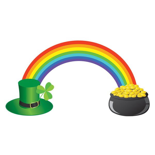 Pot of Gold Rainbow Photo Backdrop