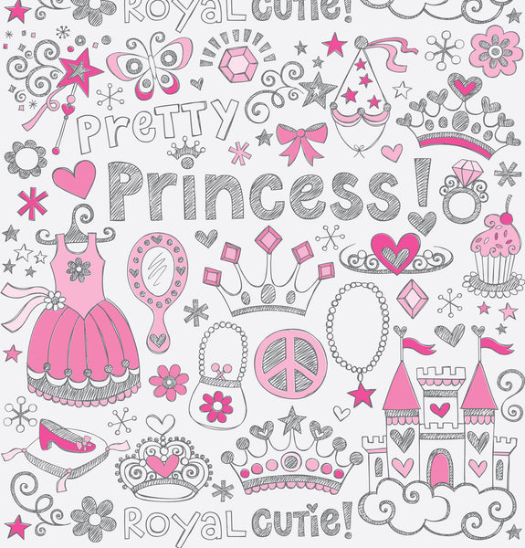 Pretty Princess Photo Backdrop