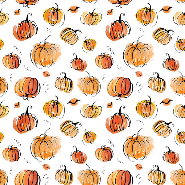 Pumpkins Away Photo Backdrop
