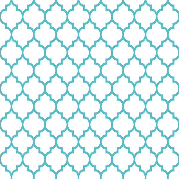 Quatre Foil Reverse Photo Backdrop