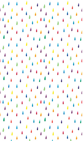 Rainbow Drops Photo Backdrop