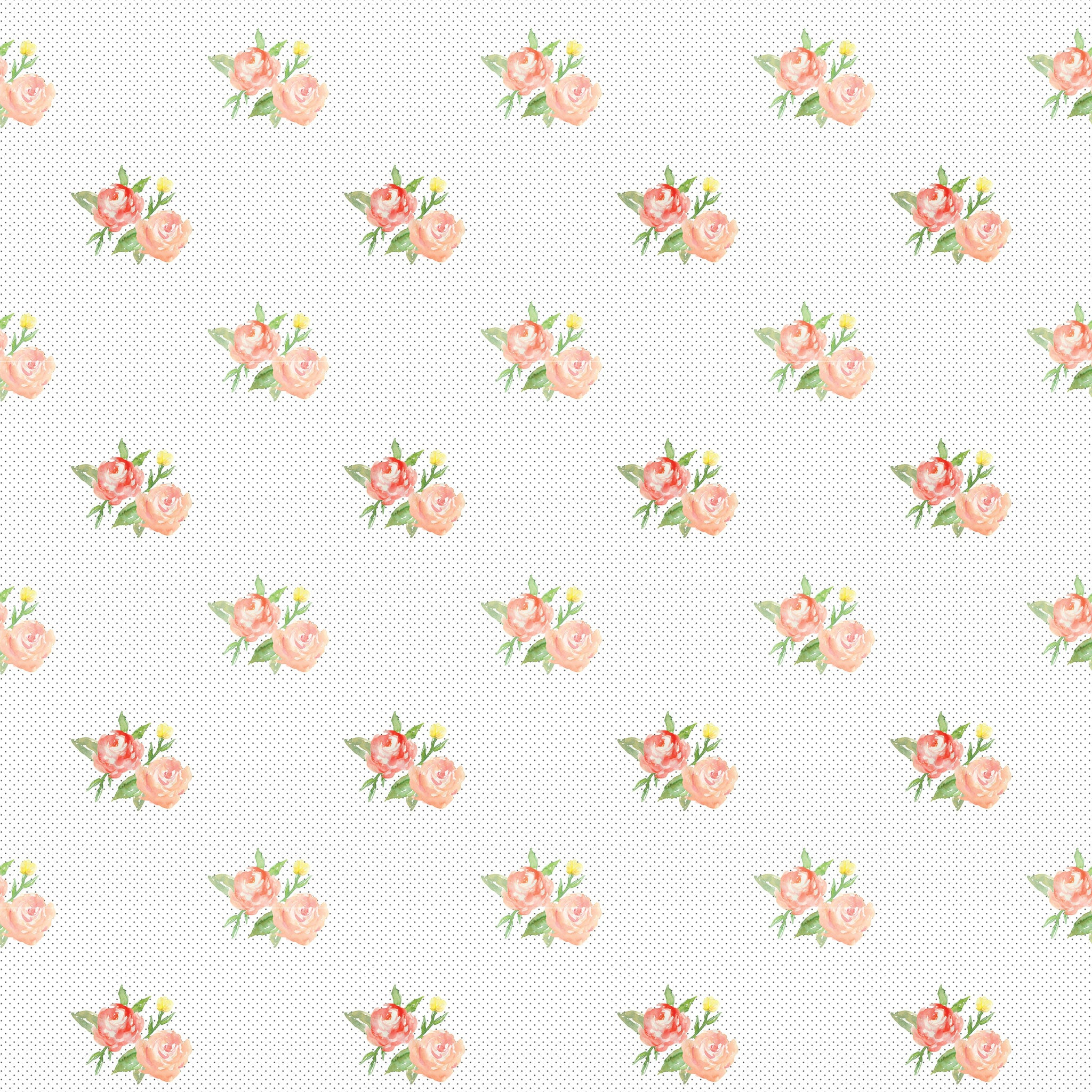 Roses & Dots Photo Backdrop