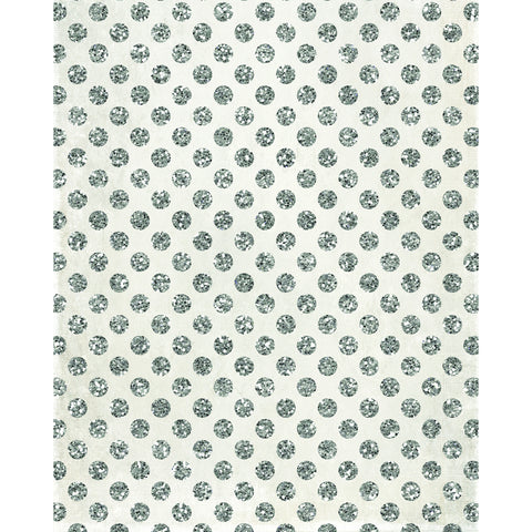 Silver Polka Dots Photo Backdrop *NEW