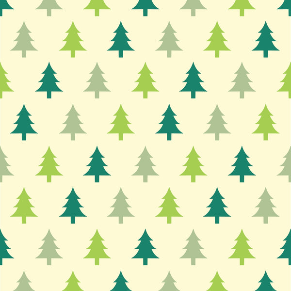 Christmas Trees Photo Background