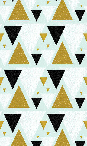 Sized Triangles Photo Backdrop