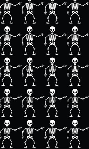 Skeleton Boy Photo Backdrop