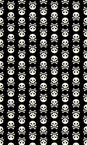 Skulls Photo Backdrop