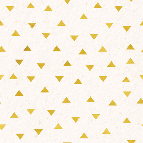 Small Gold Triangles Photo Backdrop