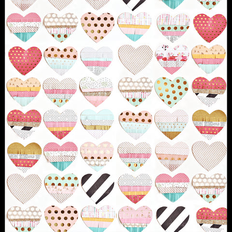 Small Hearts on Hearts Photo Backdrop