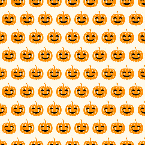 Smiling Pumpkins Photo Backdrop