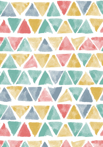 Spring Triangles Photo Backdrop