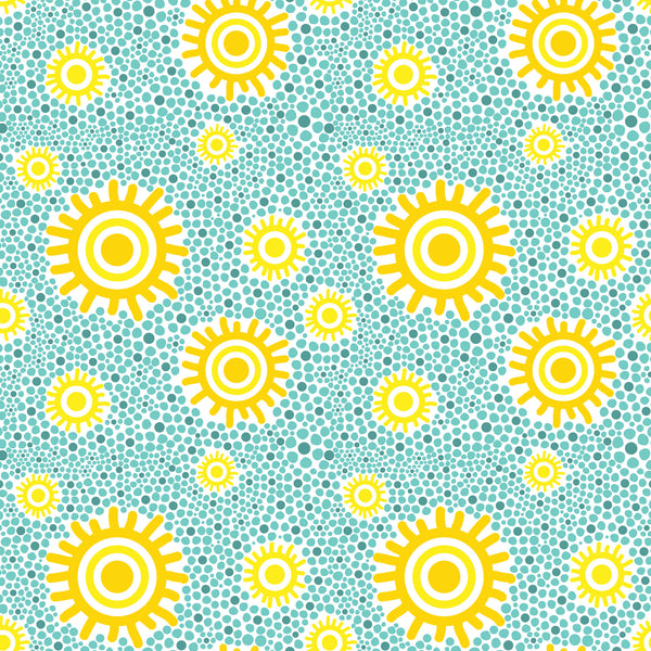 Sunshine Pebbles Photo Backdrop