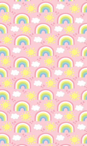 Sunshine & Rainbows Photo Backdrop