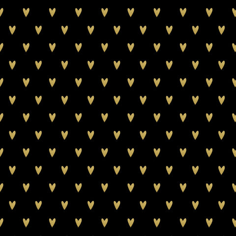 Tiny Gold Hearts Photo Backdrop