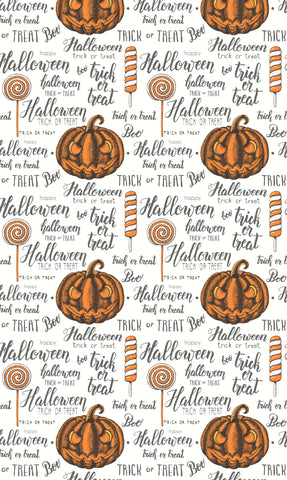 Trick Or Treat Photo Backdrop